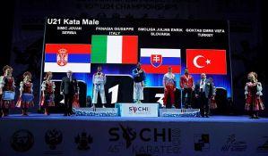 Novosađanin Jovan Simić vicešampion Evrope u katama