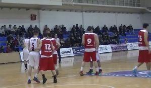 Košarkaši Vojvodine poraženi od Mladosti