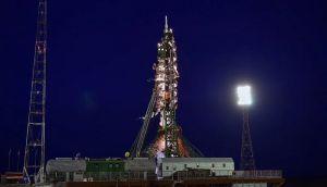 VIDEO: Sojuz uspešno lansiran, nosi loptu koja će se koristiti na SP u Rusiji
