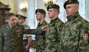 FOTO: Nove uniforme i činovi u Vojsci Srbije