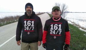 Hodaju 100 kilometara u znak protesta protiv promene imena Zrenjanina