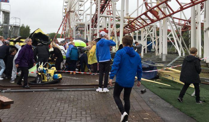 Nesreća na rolerkosteru, povređeno devetoro dece