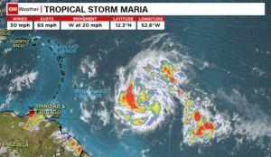Uragan Marija se približava Karibima