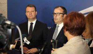 Šef delegacije EU Sem Fabrici u prvoj poseti Novom Sadu