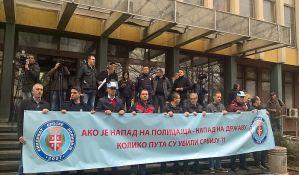 Policija ogorčena zbog puštanja na slobodu napadača na novosadskog žandarma