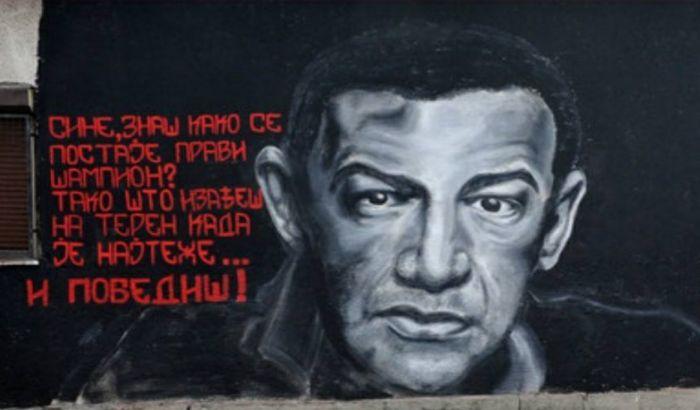 FOTO: Osvanuo mural posvećen Nebojši Glogovcu