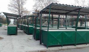 FOTO: Milioni za tezge koje niko ne koristi, a nepoznato ni kada će