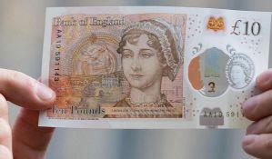 Džejn Ostin na novčanici od 10 funti