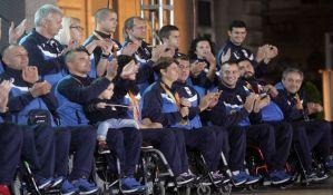 FOTO: Više stotina ljudi dočekalo paraolimpijce u Beogradu