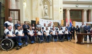 Svečani doček srpskih paraolimpijaca danas od 19h