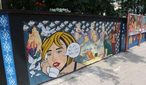 FOTO: Ko stoji iza novih murala na Bulevaru Mihajla Pupina?