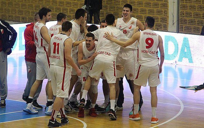 Ubedljiv trijumf košarkaša Vojvodine u Zemunu