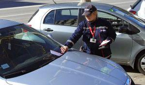 Naplata parkinga u pojedinim ulicama na Sajmištu i u Banatiću od 1. oktobra