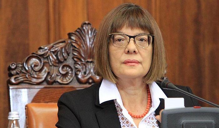 Maja Gojković: Ne pada mi na pamet da podnesem ostavku