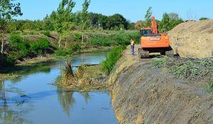 U toku uređenje kanala Jegrička