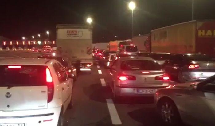 VIDEO: Beograd bio blokiran zbog probe
