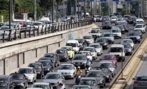Ogromne gužve na putevima u Grčkoj