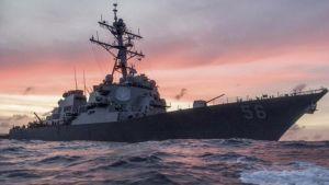 Sudar američkog razarača i tankera, nestalo 10 mornara