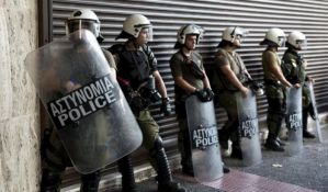 Grčka: Sukob krajnjih desničara s policijom