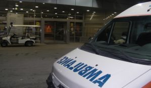 Povređen motociklista na Podbari