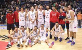 Košarkaši Srbije pobedili Crnu Goru i osvojili Trofej Beograda