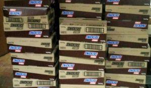 Novosađanin pokušao da prokrijumčari 700 kilograma čokoladica i keksa