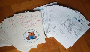 Čitanje sa decom ove sedmice na nekoliko lokacija u Novom Sadu
