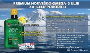 Zaštitite imunitet cele porodice uz pomoć najkvalitetnijih norveških omega-3 proizvoda