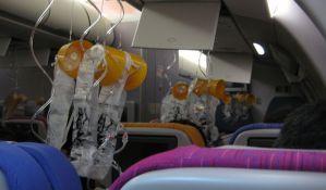 Istina o maskama s kiseonikom u avionima