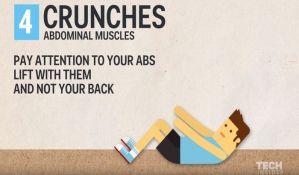 VIDEO: Ovaj trening traje samo sedam minuta