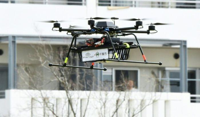 Dron dostavio prvu narudžbinu - krofne, kafu, sendviče s piletinom