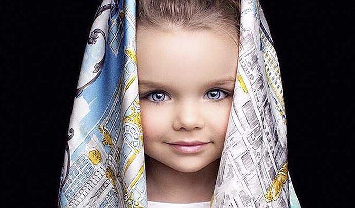 FOTO: Malena Ruskinja proglašena za najlepšu devojčicu na svetu