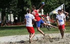 Međunarodni turnir u rukometu na pesku od sutra na Štrandu