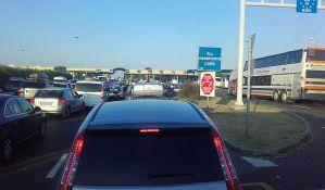 Na ulazu u Mađarsku i Hrvatsku zadržavanja oko sat vremena