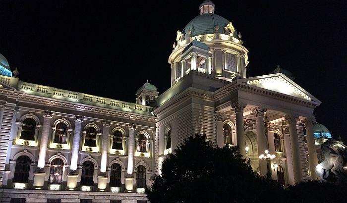 Zdanje srpskog parlamenta vredi milijardu dinara