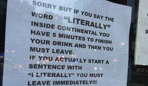 Njujorški kafić zabranio reč