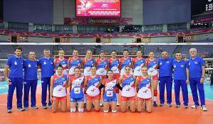Odbojkašice Srbije bolje od svetskih prvakinja