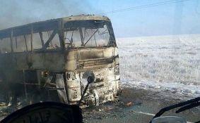 VIDEO: Izgoreo autobus u Kazahstanu, 52 osobe poginule