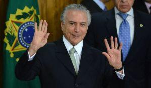 Brazilski predsednik traži da se obustavi istraga protiv njega
