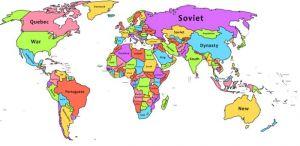 Ovo su najčešće reči na Vikipediji za svaku zemlju
