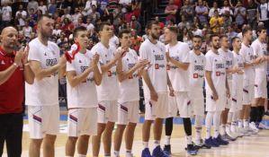 Košarkaši Srbije danas protiv Letonije na startu EP