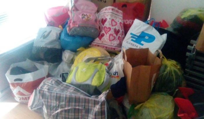FOTO: Novosađani se odazivaju apelu 021 za pomoć osnovcima u Beočinu