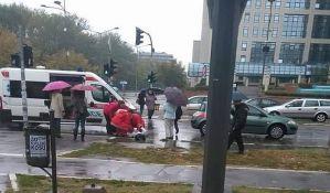 FOTO: Više udesa u Novom Sadu zbog kiše