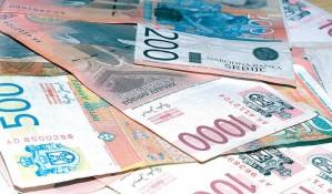 Dinar sutra minimalno slabiji prema evru