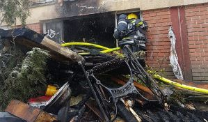 Požar na Detelinari izazvala plinska boca