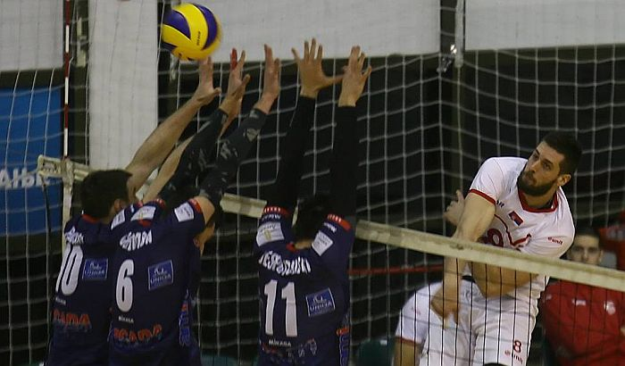 Vojvodina u 1/8 finala CEV kupa