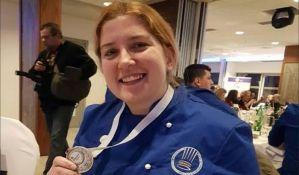 Studentkinja iz Novog Sada drugoplasirana na takmičenju najboljih kuvara regije