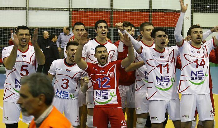 Vojvodina dočekuje Rumune u 1/16 finala CEV kupa, slobodan ulaz na meč