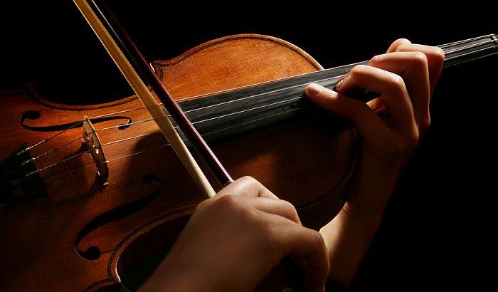 Koncert studenata violine na Akademiji umetnosti