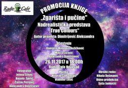 Poezija Aleksandre Dimitrijević i multimedijalna predstava u Radio kafeu